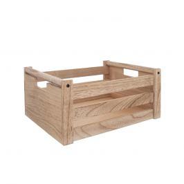 Bedýnka dřevo dekorace A NATURAL 26x16x12 cm ORION