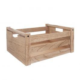 Bedýnka dřevo dekorace A NATURAL 31x21x14 cm ORION