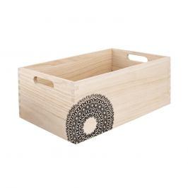 Bedýnka dřevo MANDALA 26x16x11 cm ORION