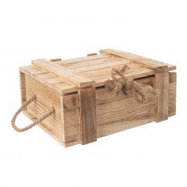 Truhla dárková dřevo 30x21x12 cm ORION