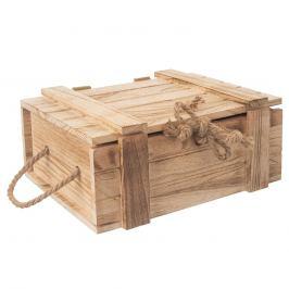 Truhla dárková dřevo 36x26x16 cm ORION