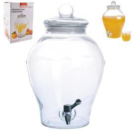 Láhev sklo+kohoutek APPLE 6,5 l ORION