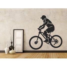 Samolepka na zeď Cyklista 001