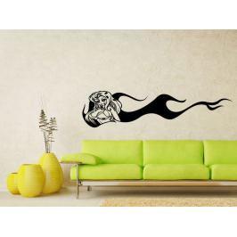 Samolepka na zeď Dívka 007