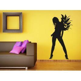 Samolepka na zeď Dívka 017