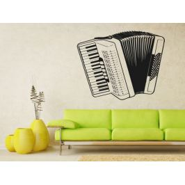 Samolepka na zeď Harmonika 001