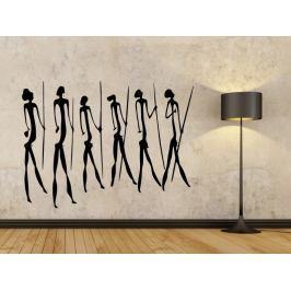 Samolepka na zeď Jeskynní lidé 003