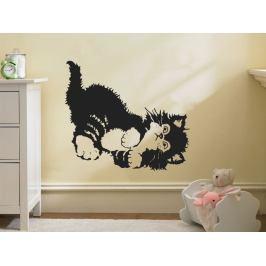 Samolepka na zeď Koťátko 001