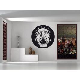 Samolepka na zeď Křik 001
