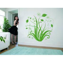 Samolepka na zeď Květiny 004
