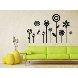 Samolepka na zeď Květiny 012