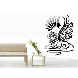 Samolepka na zeď Lví sfinga 001
