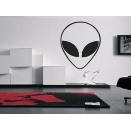 Samolepka na zeď Mimozemšťan 001