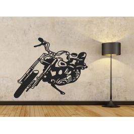 Samolepka na zeď Motorka 001