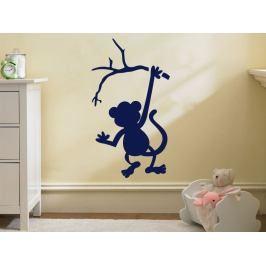 Samolepka na zeď Opička 001