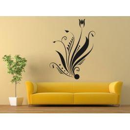Samolepka na zeď Ornamenty z rostlin 002