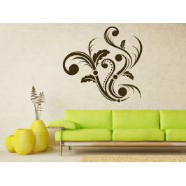 Samolepka na zeď Ornamenty z rostlin 004