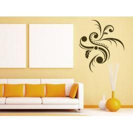 Samolepka na zeď Ornamenty z rostlin 007