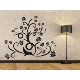 Samolepka na zeď Ornamenty z rostlin 015