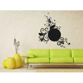 Samolepka na zeď Ornamenty z rostlin 025