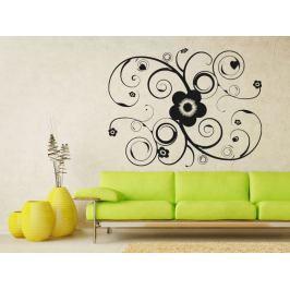Samolepka na zeď Ornamenty z rostlin 028