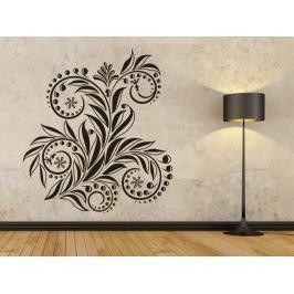 Samolepka na zeď Ornamenty z rostlin 033