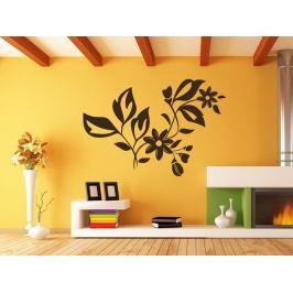Samolepka na zeď Ornamenty z rostlin 037