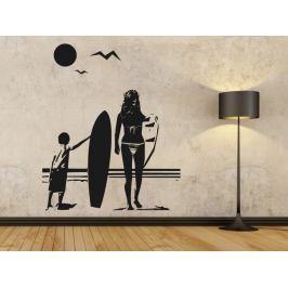Samolepka na zeď Pláž 001