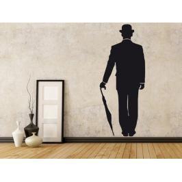 Samolepka na zeď Silueta 007