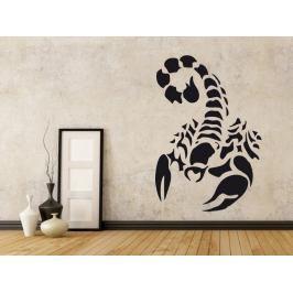 Samolepka na zeď Škorpión 002