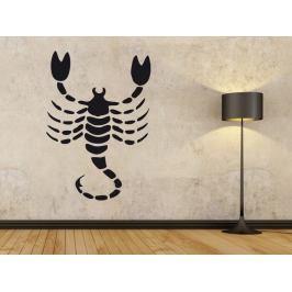 Samolepka na zeď Škorpión 003
