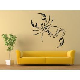 Samolepka na zeď Škorpión 005