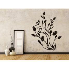 Samolepka na zeď Tulipány 001