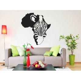 Samolepka na zeď Zebra 008