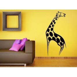 Samolepka na zeď Žirafa 003