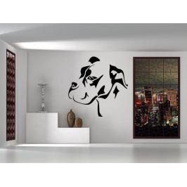 Samolepka na zeď Mastif 001