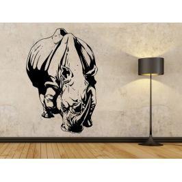 Samolepka na zeď Nosorožec 003