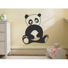 Samolepka na zeď Panda 005