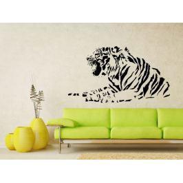 Samolepka na zeď Tygr 012