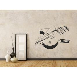 Samolepka na zeď Kytara 005