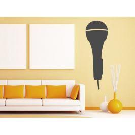 Samolepka na zeď Mikrofon 001