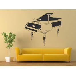 Samolepka na zeď Piano 004