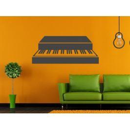Samolepka na zeď Piano 006