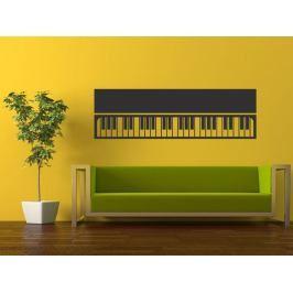 Samolepka na zeď Piano 008