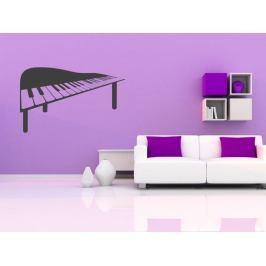 Samolepka na zeď Piano 011