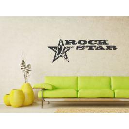 Samolepka na zeď Rock Star 001