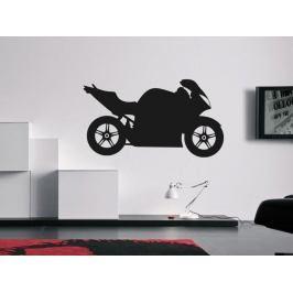 Samolepka na zeď Motorka 017