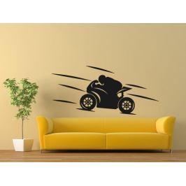 Samolepka na zeď Motorka 022