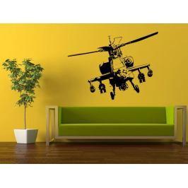 Samolepka na zeď Helikoptéra 004