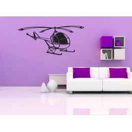 Samolepka na zeď Helikoptéra 006